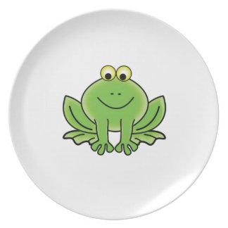 bug eyed frog plate