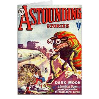 Bug Eyed Moon Monster Card