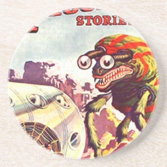 Bug Eyed Moon Monster Coaster