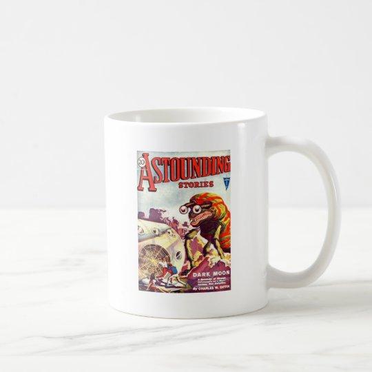 Bug Eyed Moon Monster Coffee Mug