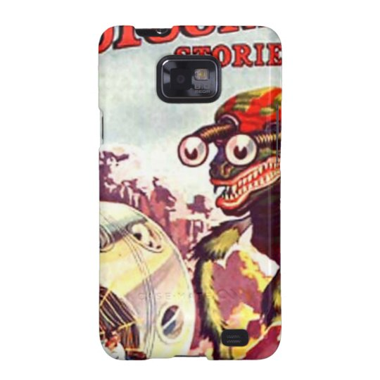 Bug Eyed Moon Monster Galaxy SII Case