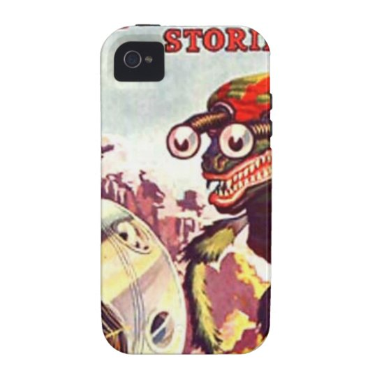 Bug Eyed Moon Monster iPhone 4 Cover