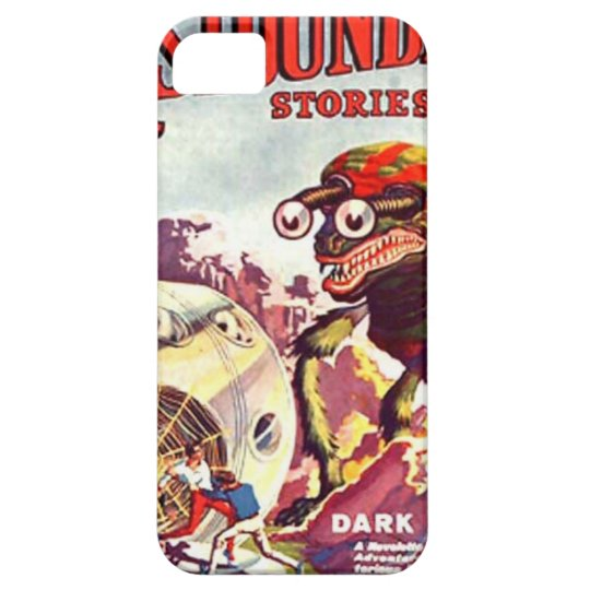 Bug Eyed Moon Monster iPhone 5 Case