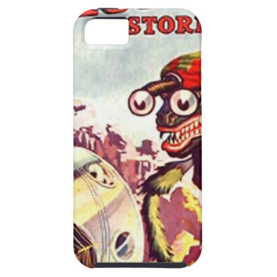 Bug Eyed Moon Monster iPhone 5 Cases