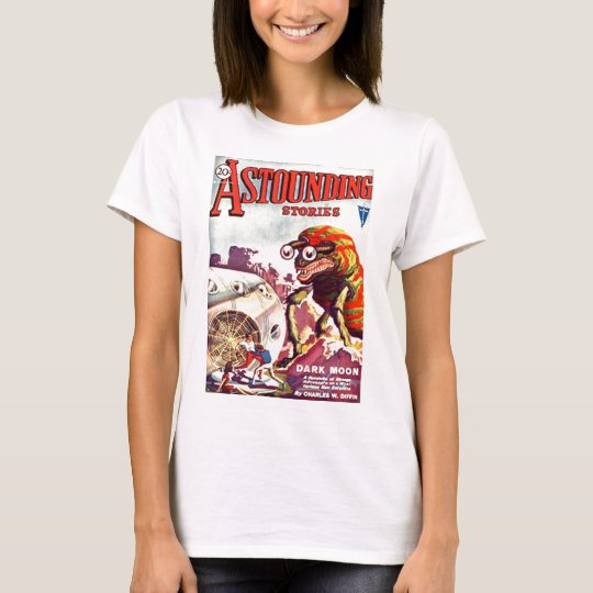 Bug Eyed Moon Monster T-Shirt