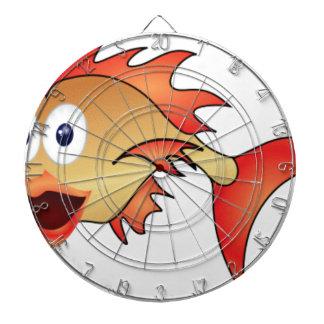 bug eyes fish dartboard