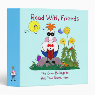 Bug Eyes & Wings Read With Friends Avery Binder