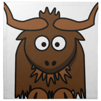 bug eyes yak cloth napkin