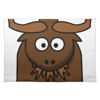 bug eyes yak placemat