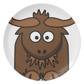 bug eyes yak plate