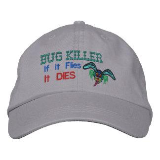 Bug Killer Embroidered Hat