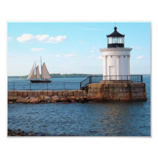 Bug Light Lighthouse Portland Maine Photo Print