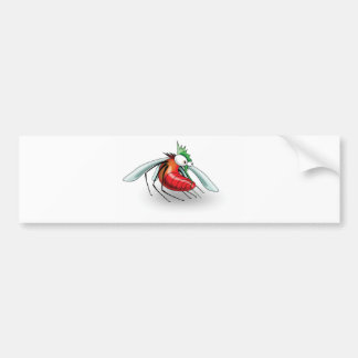 bug me suit bumper sticker