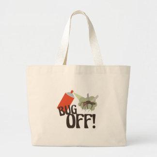 Bug Off! Large Tote Bag