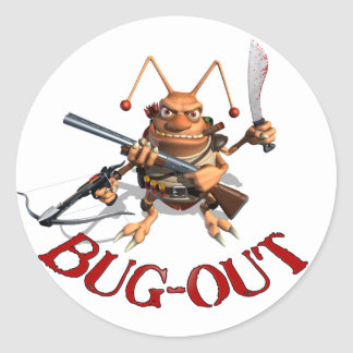 Bug-Out Stickers