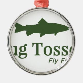 Bug Tosser Logo Metal Ornament