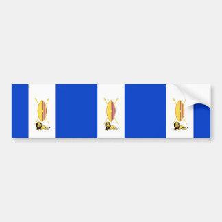 Buganda, Tuvalu flag Bumper Sticker