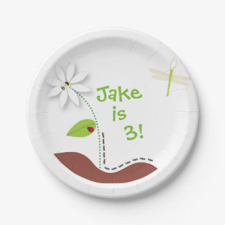 Buggin' Out Paper Plate 7 Inch Paper Plate