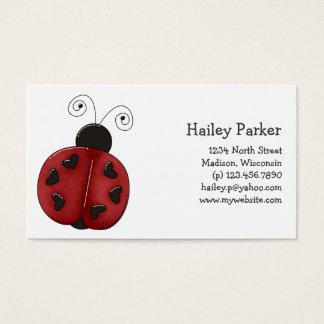 Buggin' You Again · Ladybug Business Card