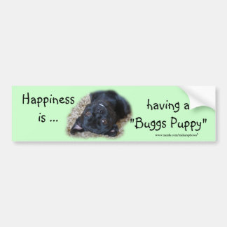 """Buggs Puppy Bumpersticker- customize Bumper Sticker"