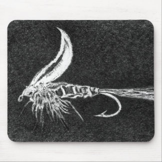 """Buggy Fly"" Trout Fly Mousepad"