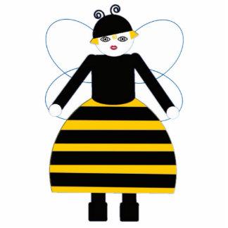 Buggy Martzkin Honey Bee Sculpture Photo Sculpture Magnet