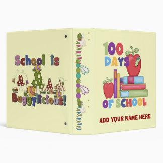 Buggylicious 100 Days of School  Binder