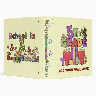 Buggylicious 5th Grade Teacher Binder