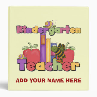 Buggylicious Kindergarten Teacher Binder