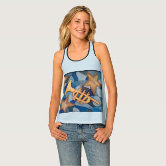 Bugle and Stars on a Great Shirt