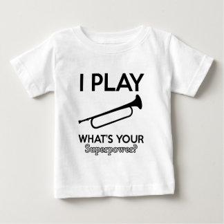 bugle designs baby T-Shirt