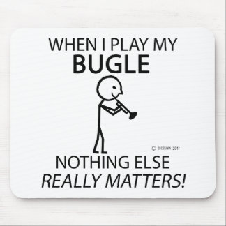 Bugle Nothing Else Matters Mouse Pad
