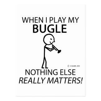 Bugle Nothing Else Matters Postcard