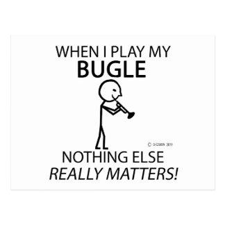 Bugle Nothing Else Matters Postcards
