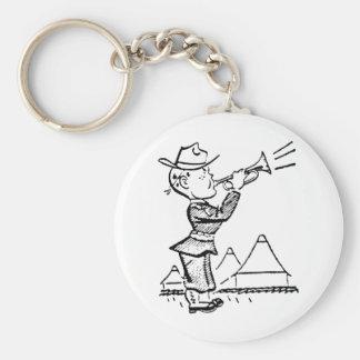 Bugler Key Chain