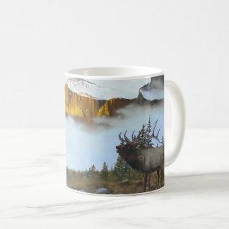 Bugling Elk Coffee Mug