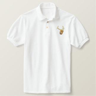 Bugling Elk Embroidered Shirt