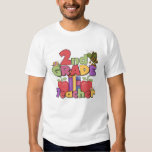 Bugs and Apples 2nd Grade Tees