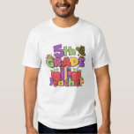 Bugs and Apples 5th Grade Teacher Tee Shirts