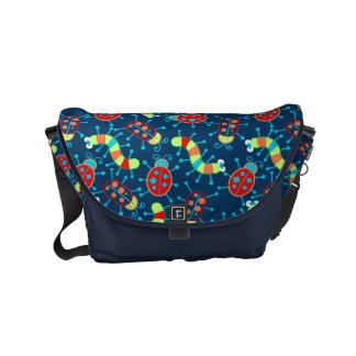 Bugs and beetles courier bags