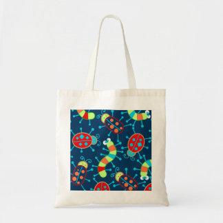 Bugs and beetles tote bag