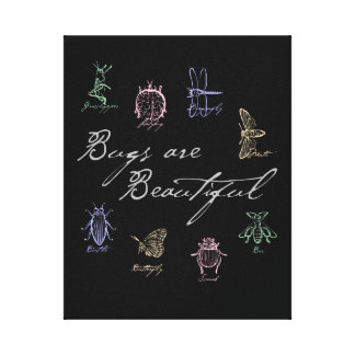 Bugs are Beautiful Canvas Print