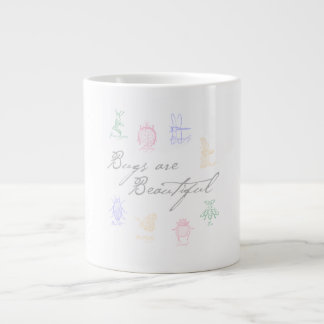 Bugs are Beautiful Large Coffee Mug