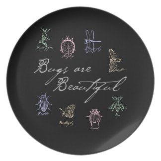 Bugs are Beautiful Plate