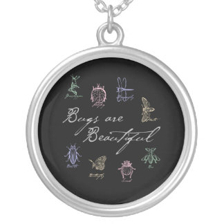 Bugs are Beautiful Silver Plated Necklace