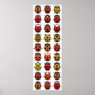 Bugs, Bugs, Bugs - Bugs Pattern Poster