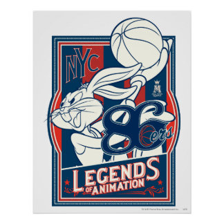 BUGS BUNNY™ 86ers Poster