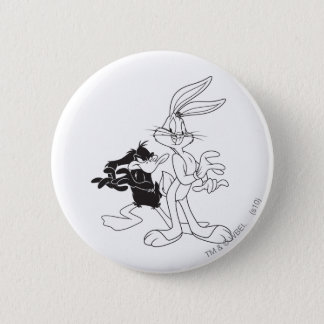 BUGS BUNNY™ and DAFFY DUCK™ 2 Inch Round Button