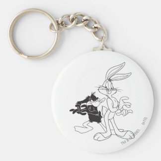 BUGS BUNNY™ and DAFFY DUCK™ Keychain