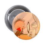 BUGS BUNNY™ and Elmer Fudd 2 Buttons